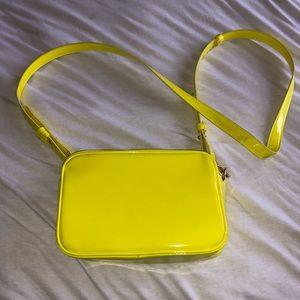 Stoney Clover Lane patent leather yellow